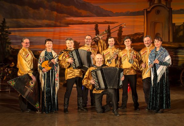 Cossacks Folk Show BAGATITSA in House of Countess Panina