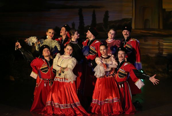 Folklore show BAGATITSA in Saint-Petersburg