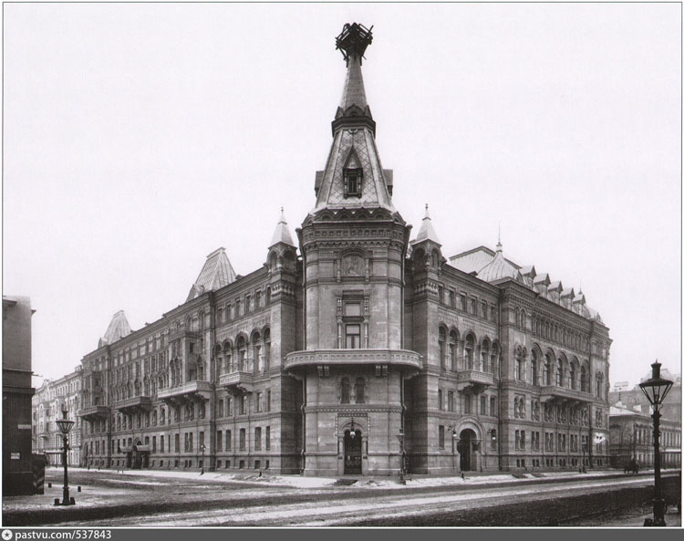 Youth House on Vasilyevsky Island in Saint-Petersburg