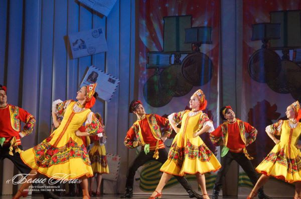 Folklore show Russia in Fairytales in Saint-Petersburg