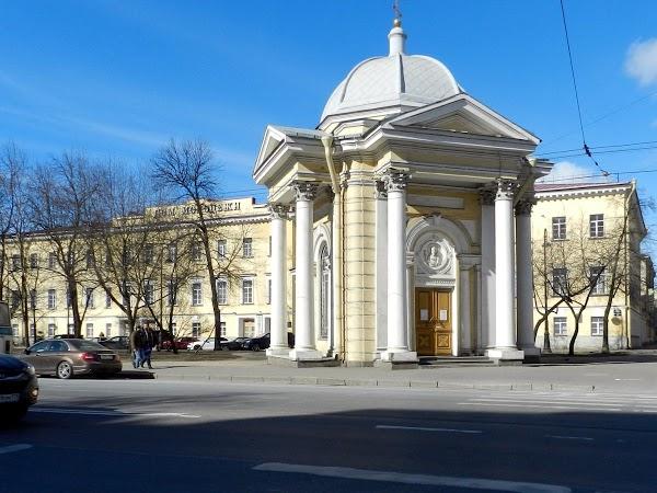 Дом Молодежи на Васильевском  острове в Санкт-Петербурге - Youth House on Vasilyevsky Island in Saint-Petersburg