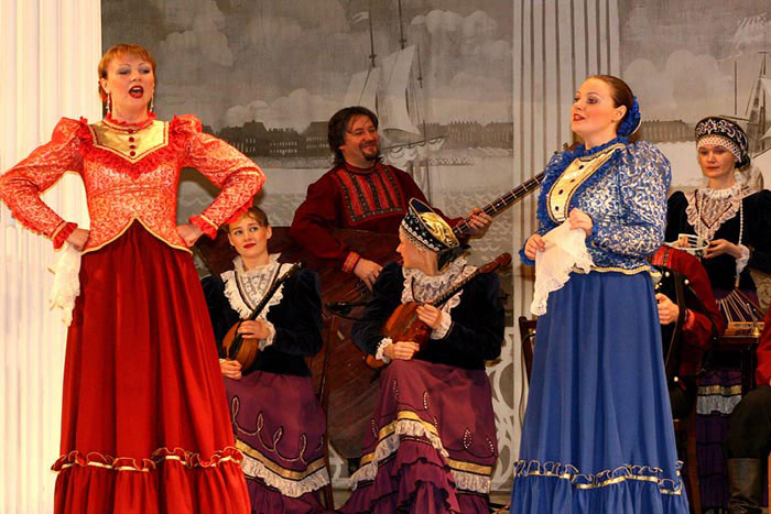 Folklore show Feel Your self Russian in Saint-Petersburg