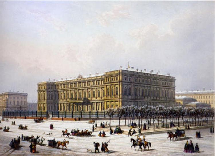 <Экскурсия в Николаевский дворец - Excursion to the Nikolaevsky Palace in St. Petersburgn