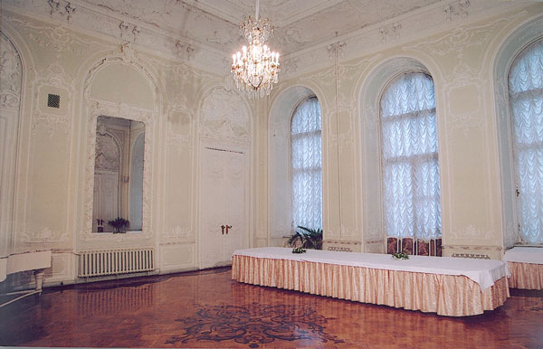 Restaurants and banquet halls of the Nicholas Palace in St. Petersburgn